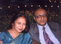 Goldie and Anil at Vicky and Neena's Marriage